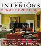 World of Interiors October 2015