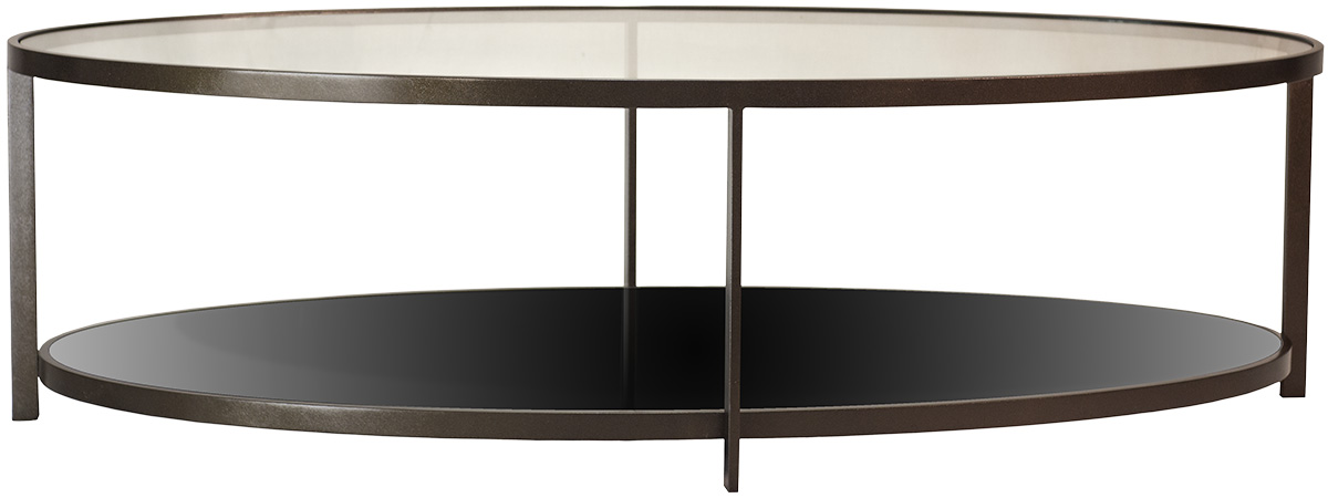 Dark Bronze Finish With Clear Glass Top And Bronze Tinted Mirrored Lower  Shelf. 1500mm X 800mm X 430mm H. Available In Polished Stainless Steel, ...