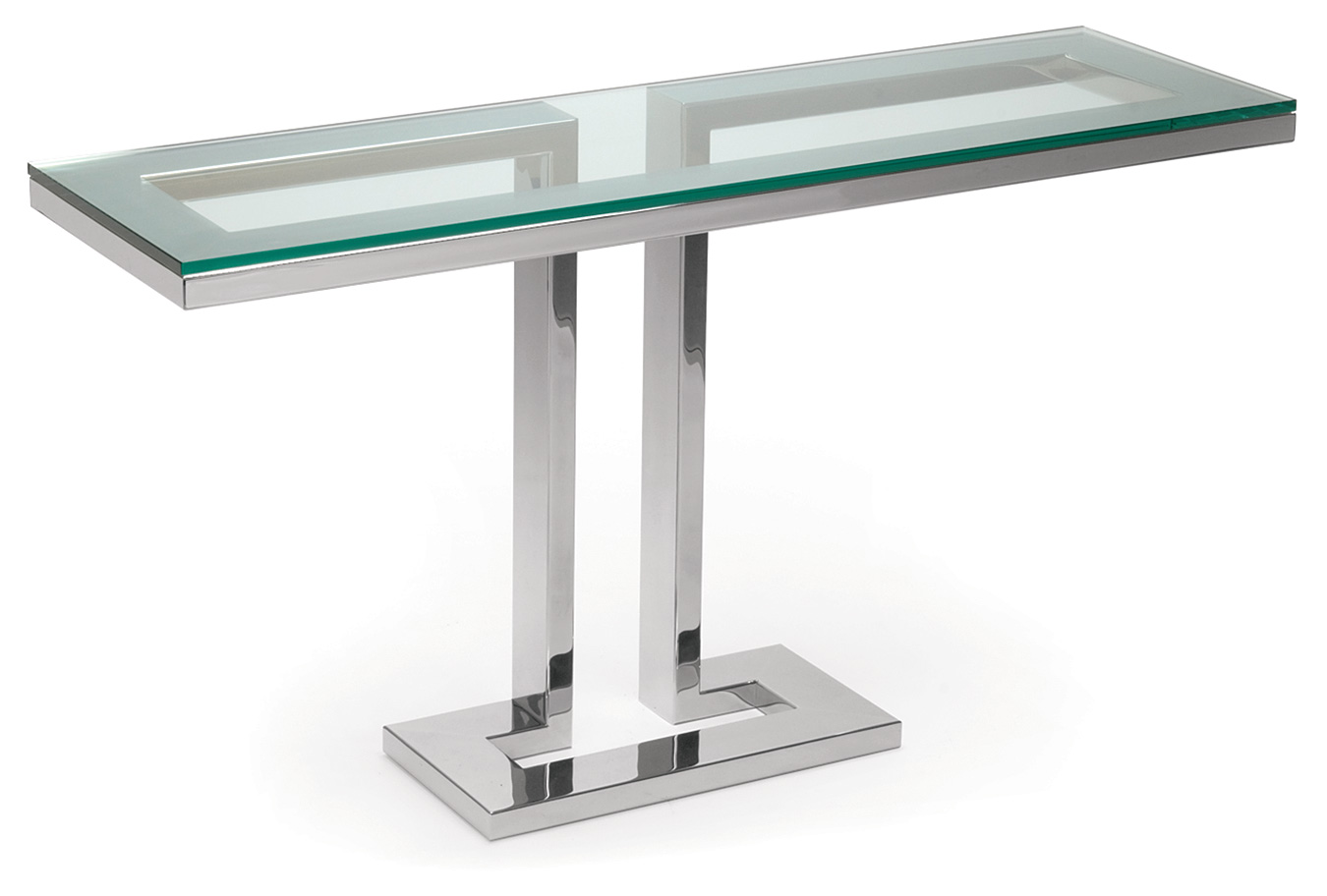 Magnificent Stainless Steel and Glass Console Tables 1350 x 912 · 102 kB · jpeg