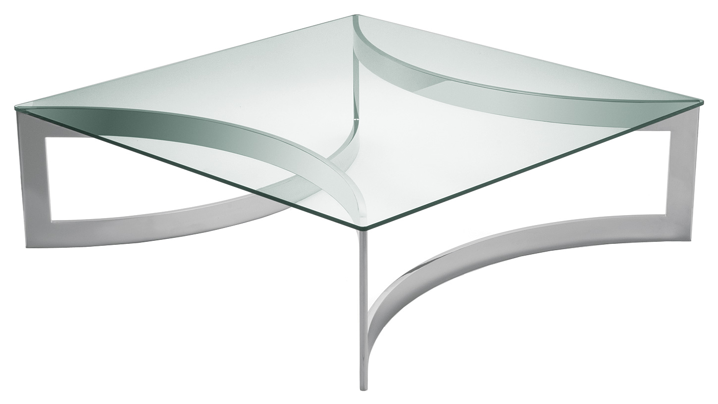 Polished Stainless Steel With Glass Top. 1400mm X 1400mm X 420mm H. 1200mm  X 1200mm X 420mm H.