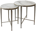 Mayfair Nesting Circular Side Tables