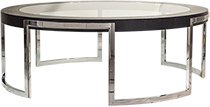 Valencia Coffee Table with Glass Top